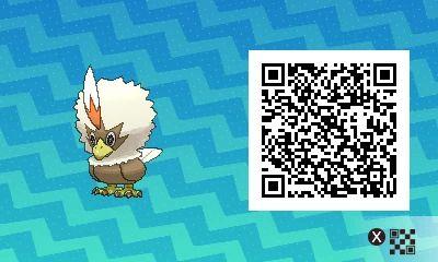 QR Code shiney Rufflet/ Furaiglon