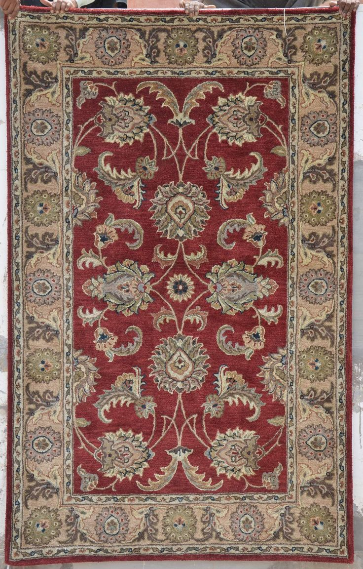 Hand-tufted rugs can withstand high traffic, and will begin to wear out after 12 to 20 years of use. High traffic areas include #hallways #family room and #entryway. Medium traffic areas include the #DiningRoom and #Home #Office. Low traffic areas include #Bedrooms and formal #LivingRoom.