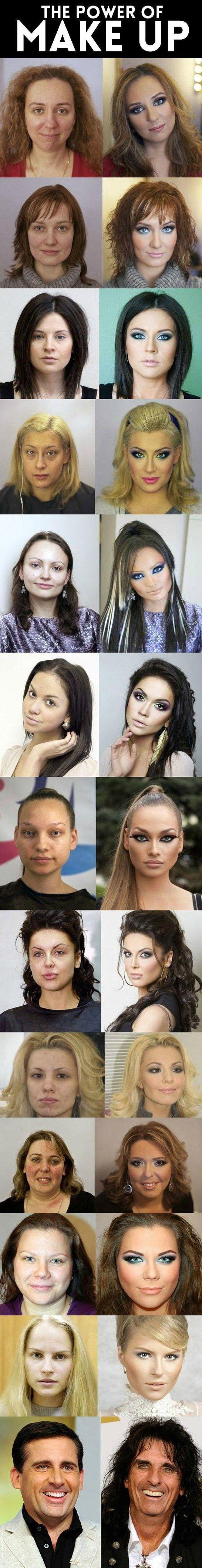 Power of makeup - www.meme-lol.com