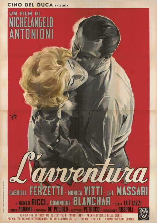 L'avventura (1960 - Michelangelo Antonioni)