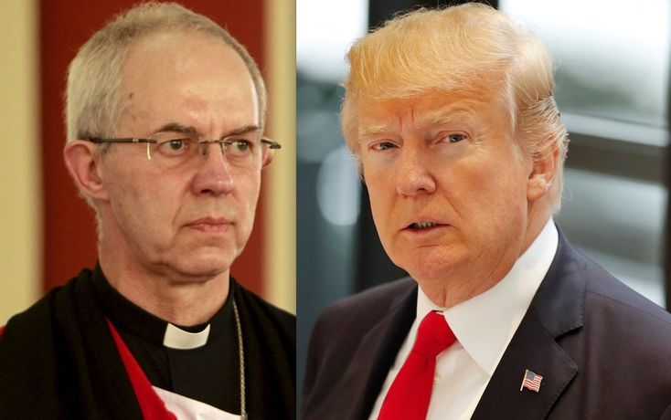 Archbishop Of Canterbury: 'I Genuinely Do Not Understand' Christians Who Back Trump | HuffPost