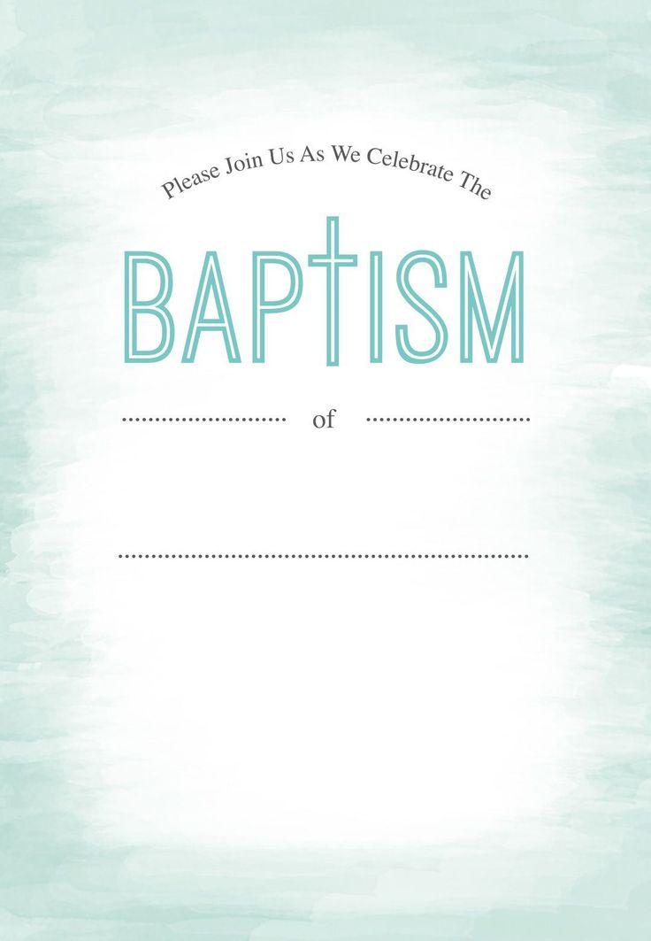 148 best baptism images on pinterest christening invitations baptism invitation printable baptism invitations free invitation for you free invitation for you stopboris Images