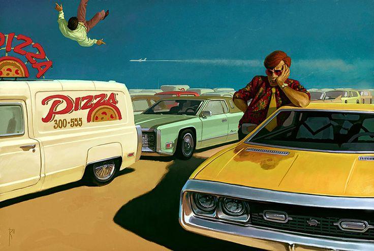 Les illustrations provocantes de Waldemar von Kazak Dessein de dessin