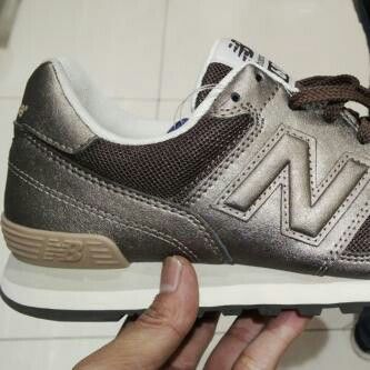 I love sneakers and I love new Balance metalic!!!finally I got it...