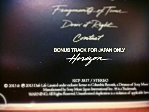 Le quatorzième titre du dernier album des Daft Punk >> http://myclap.fr/le-blog/entry/horizon-la-bonus-track-de-l-album-de-daft-punk