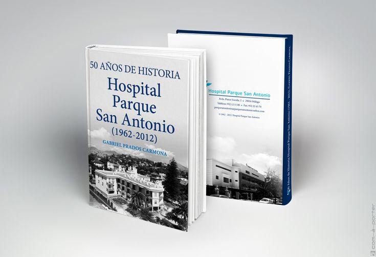 Maquetación del Libro 50º Aniversario de Vithas Hospital Parque San Antonio