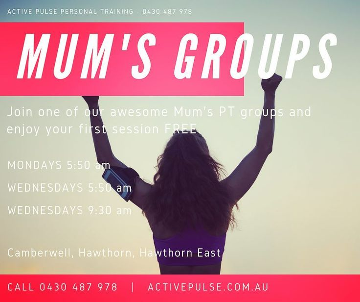 Let's go Mama's. Join other mums having fun and getting a move on. Whether you're heading into winter or a beach holiday you need to move and groove.