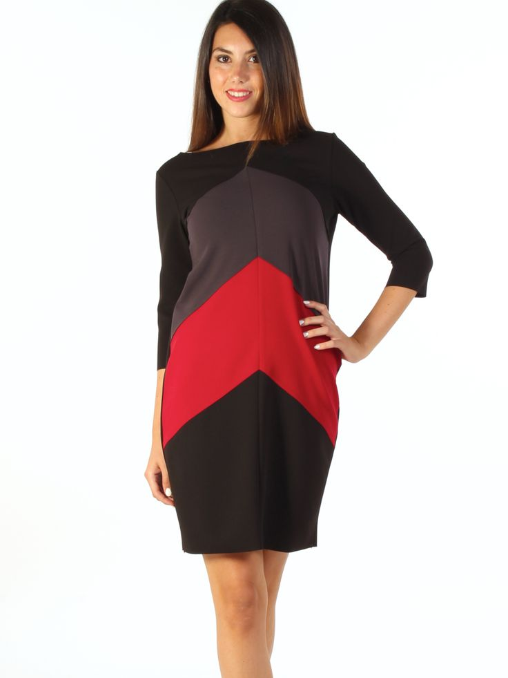 Multicoloured stretch jersey casual short dress http://www.luanaromizi.com/en/dresses-woman/multicoloured-stretch-jersey-casual-short-dress.html #multicoloured #stretch #jersey #casual #shortdress #freesketch #luanaromizi