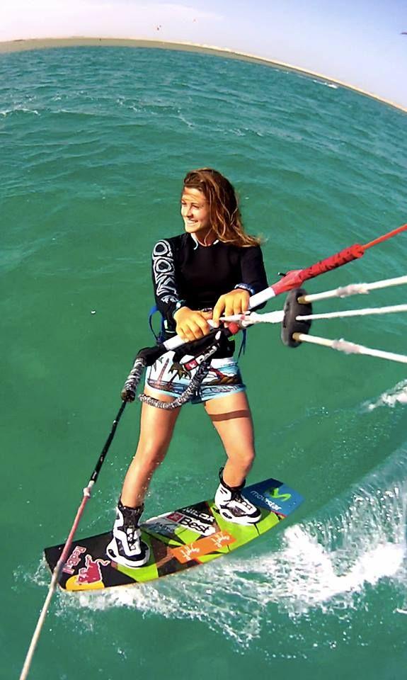 Elle nous l'a confirmé sur instagram, Gisela Pulido aura un promodel chez BEST Kiteboarding en 2015 ! A découvrir sur sa photo...
