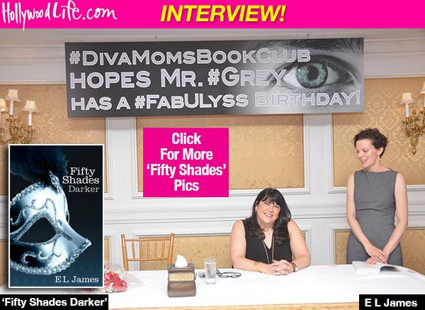 E.L. James Confirms She'll Write 'Fifty Shades Darker' From Christian's Perspective