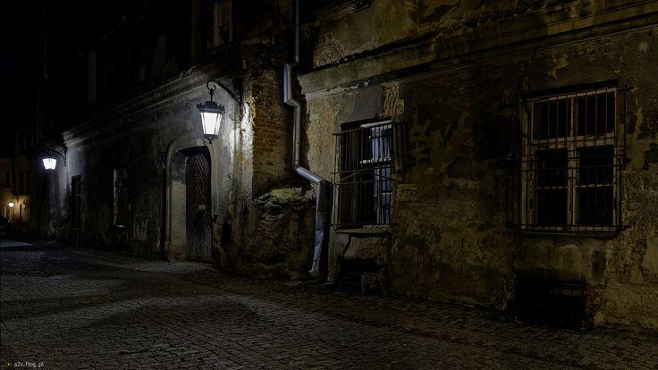 Lublin nocą -  ... na Dominikańskiej