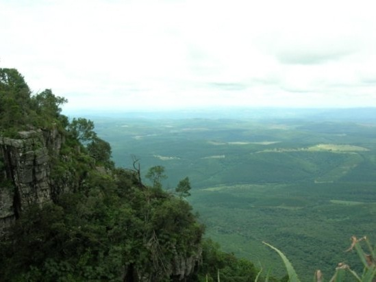 A breathtaking view from Nelspruit hill top
