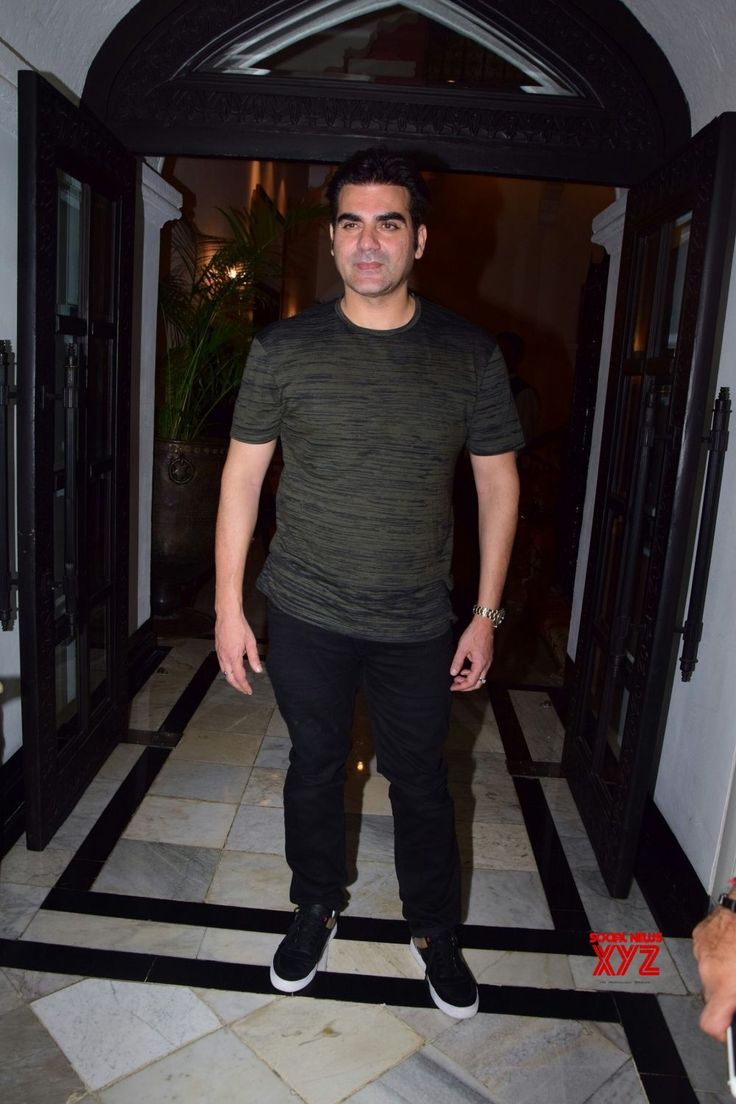 Mumbai: Arbaaz Khan at a real estate awards - Social News XYZ