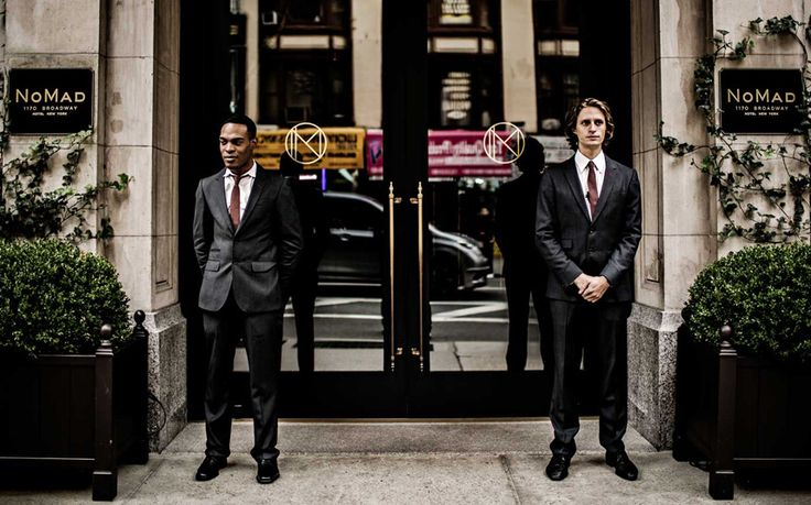 The NoMad, New York At The NoMad hotel in New York, uniforms are designed by the city's menswear design collective Bespoken; much of the uniform manufacturing takes place at British clothier Turnbull & Asser.