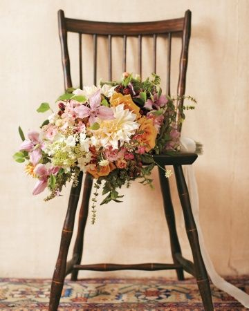 The ultimate summer wedding bouquet