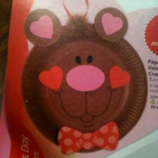 Valentines day craft bears