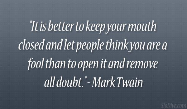 <b>Mark</b> <b>Twain</b> <b>Quote</b>