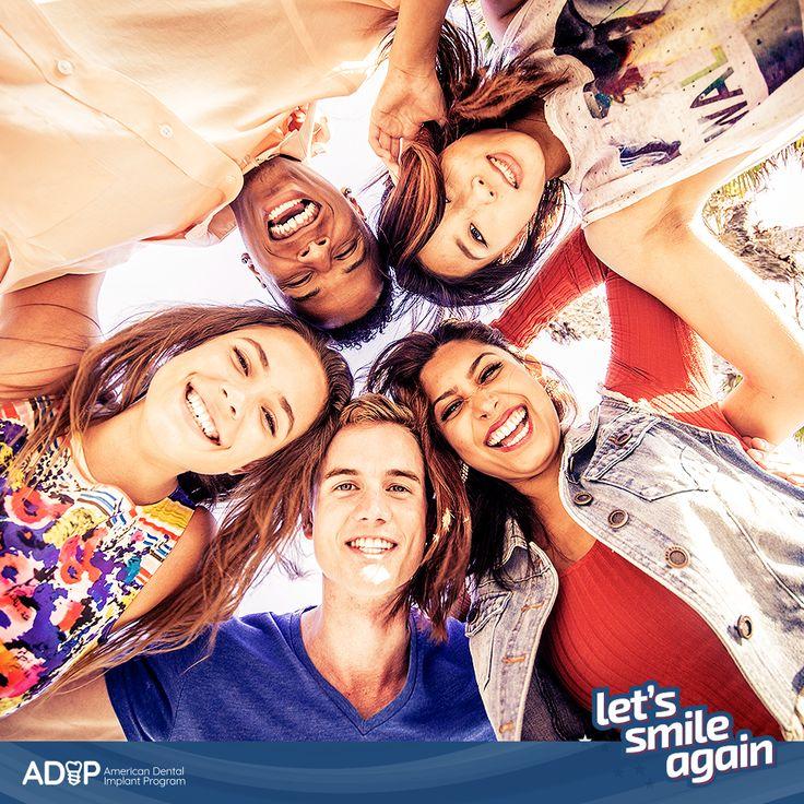 Did you know that the success rate of dental implants is almost 100% (98%, to be precise)? #ADIP #LetsSmileAgain --  ¿Sabías que el índice de éxito de la colocación de implantes dentales es casi del 100%, más exactamente del 98%? #ADIP  #LetsSmileAgain