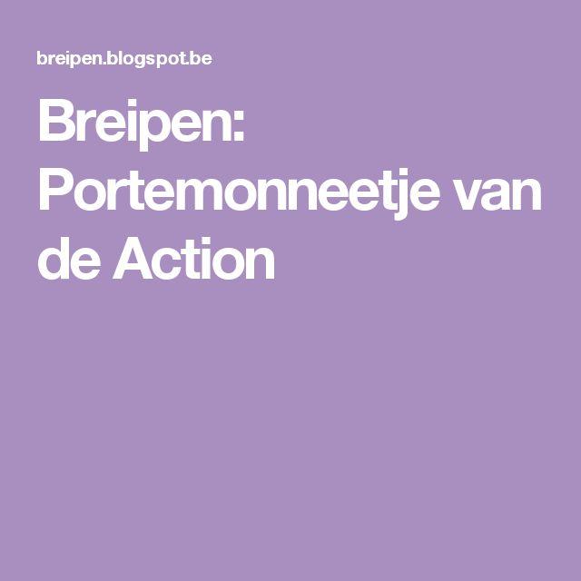 Breipen: Portemonneetje van de Action