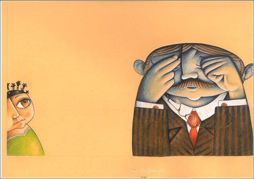 """Dražen Jerabek illustration for """"Priča o Vilmi Špigl""""."""
