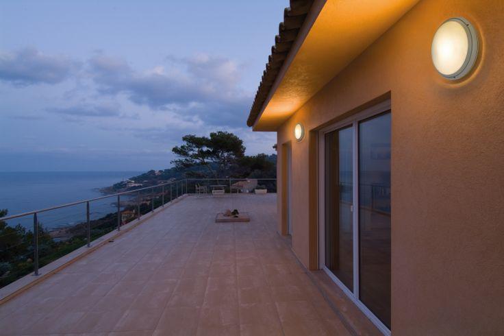 Go out and enjoy the last glows ... #Pantarei, light for #Outdoors ► http://bit.ly/Pantarei #design Ernesto Gismond