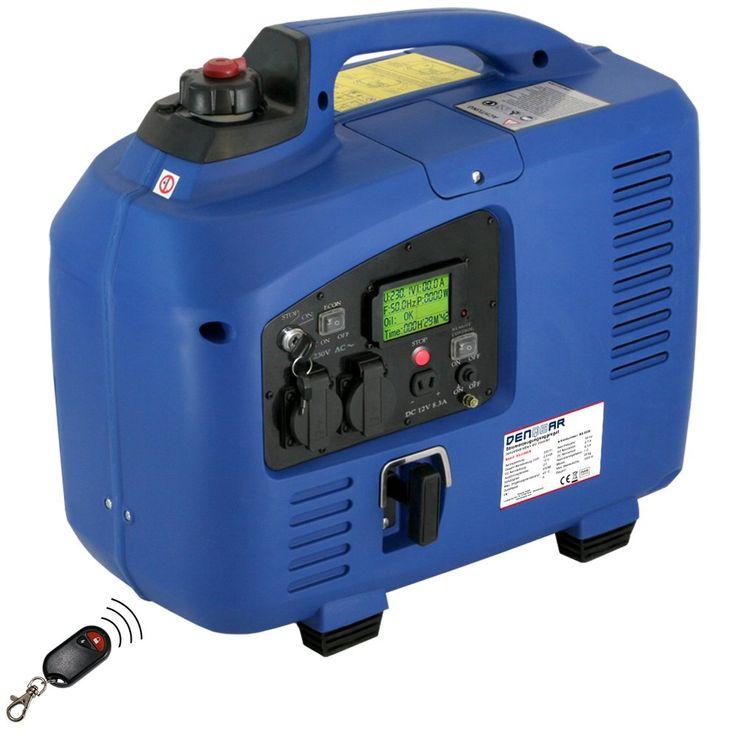 Denqbar 22 Kw Inverter Stromerzeuger Notstromaggregat Stromaggregat Digitaler Generator Benzinbetrieben Dq2200er Mit E Start Und F Funk Generatoren Musikanlage