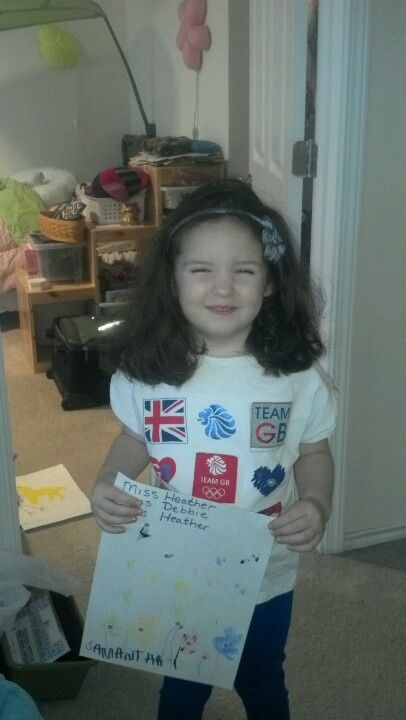 GO TEAM GB! My daughter Sam wearing her Olympic gear #boden #fromlondonwithlove