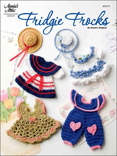 Crochet - Kitchen Patterns - Fridgie Frocks