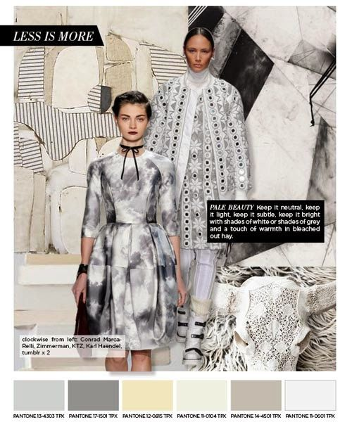 FASHION VIGNETTE: TRENDS // PATTERN PEOPLE . A/W 2015-16