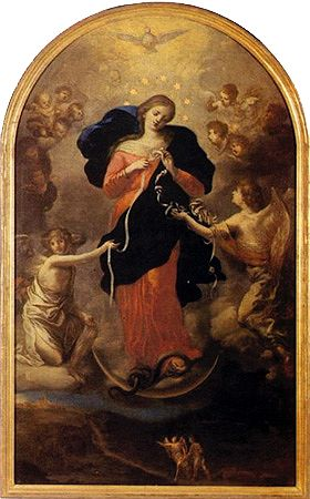 http://www.theholyrosary.org/maryundoerknots  Unfailing Novena To The Virgin Mary Untier of Knots