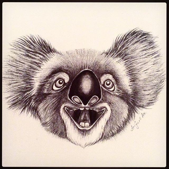 #art #artsy #artist #arigart #topcreator #graphic #graphics #graphicart #ink #instaart #illustration #picture #painting #draw #drawing #koala #графика #художник #картина #коала #иллюстрация #inspiration #рисунок #design #animal #cute #happiness
