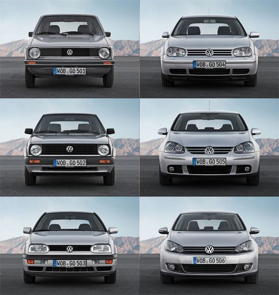Cars Volkswagen Volkswagen Golf: Volkswagen-Golf-all-generations-auto-sales-statistics