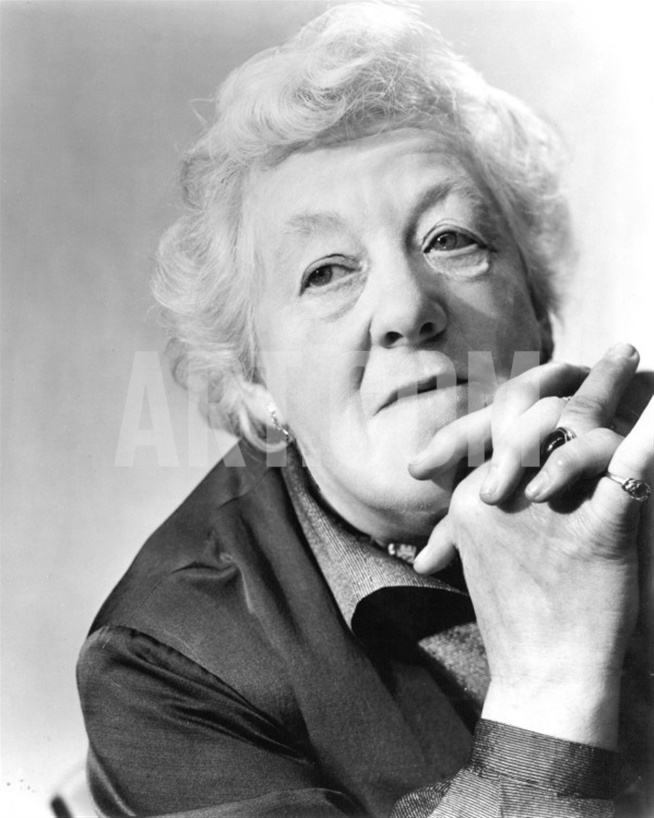 Dame Margaret Rutherford - to me she is the ONLY Miss Marple
