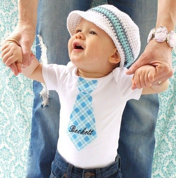 Cute!: Hats, Cutest Baby, Cute Baby, Baby Ties, Boys Stuff, Little Boys, Kid, Baby Boys Outfits, Ties Onesie