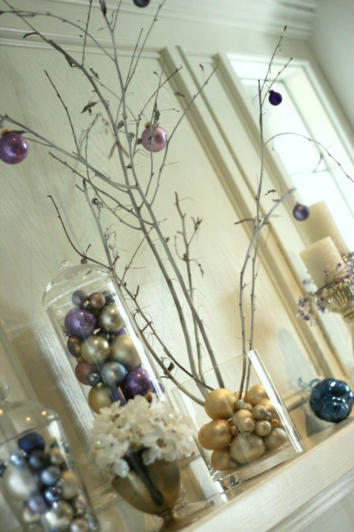 Christmas Mantle Decorating Ideas | Holiday Mantel Decorating Ideas | Home Decorating Tips & Ideas