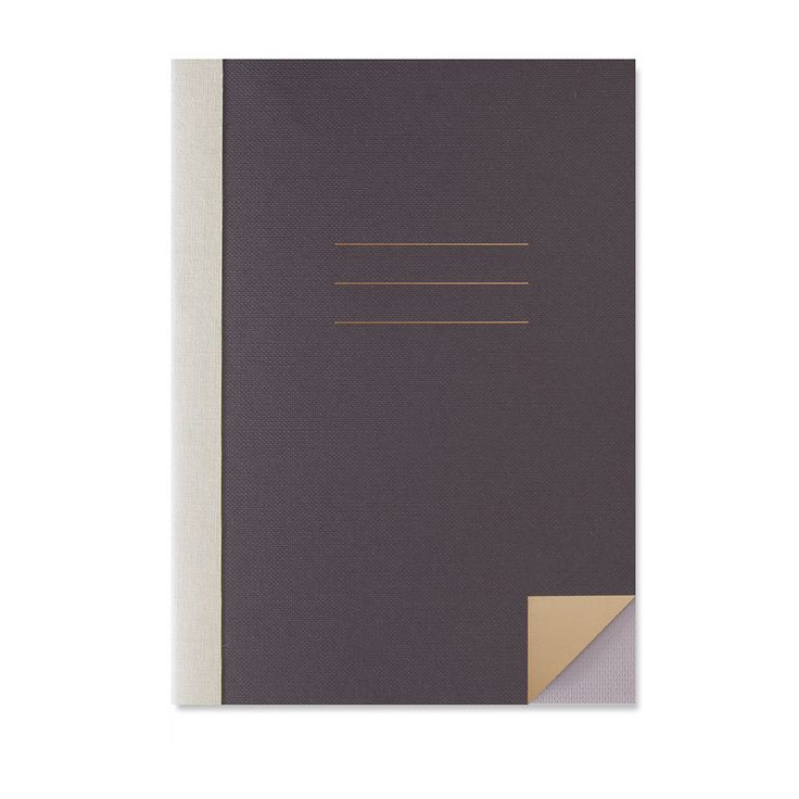Black back-to-school notebook by Studio Sarah