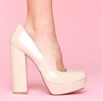 Love the chunky heelsShoes Glorious, Chunky Heels, Glorious Shoes
