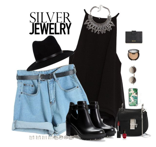 """""""Sweet Silver Jewelry"""" by blondeshoopaholic on Polyvore"""
