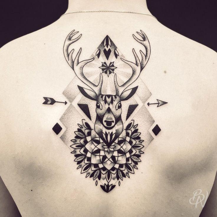 Violette | Bleu Noir tattoo