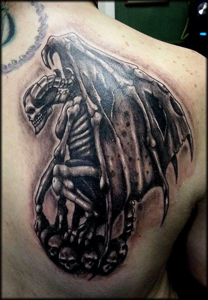 gothic gargoyle tattoo wwwimgkidcom the image kid