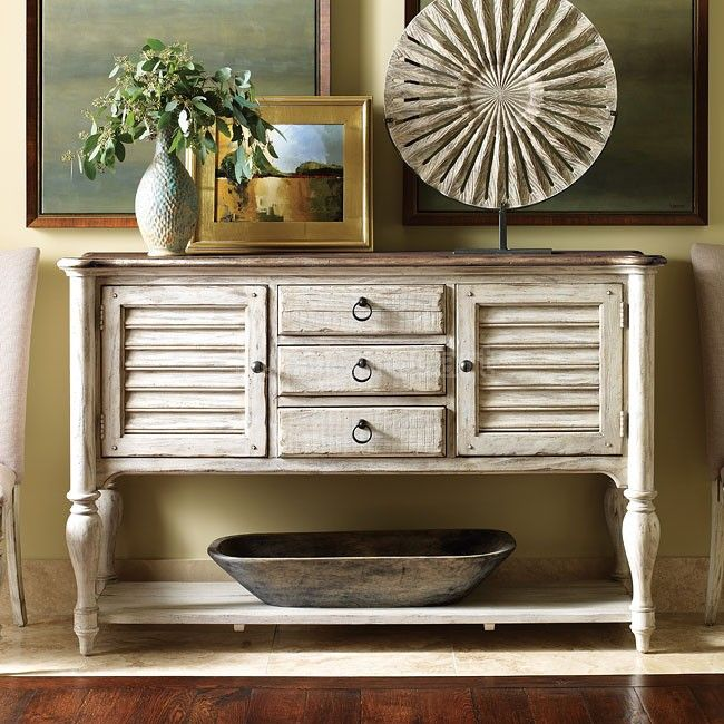 Weatherford Edisto Sideboard (Cornsilk) Kincaid Furniture | Furniture Cart