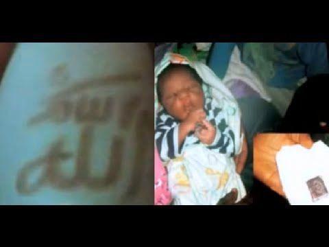 Lafaz Allah, Bayi lahir dengan lafaz allah banyak sekali terjadi di belahan dunia manapun tidak terkecuali dengan masyrakatnya yang mayoritas non muslim. pad...