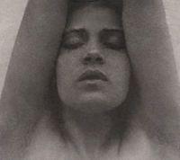 Tina Modotti with arms raised - Edward Weston, c.1921