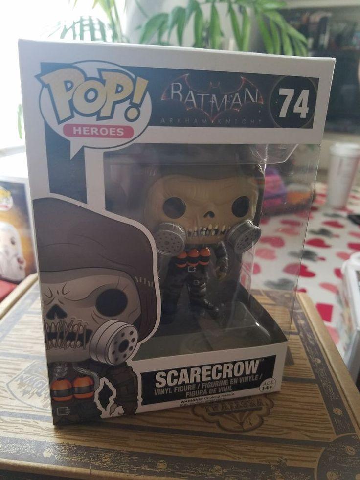 Batman Arkham Knight POP Scarecrow Vinyl Figure NEW Toys Arkham Funko Adult Own #FUNKO #BatmanArkhamKnightPOPScarecrowVinylFigToys