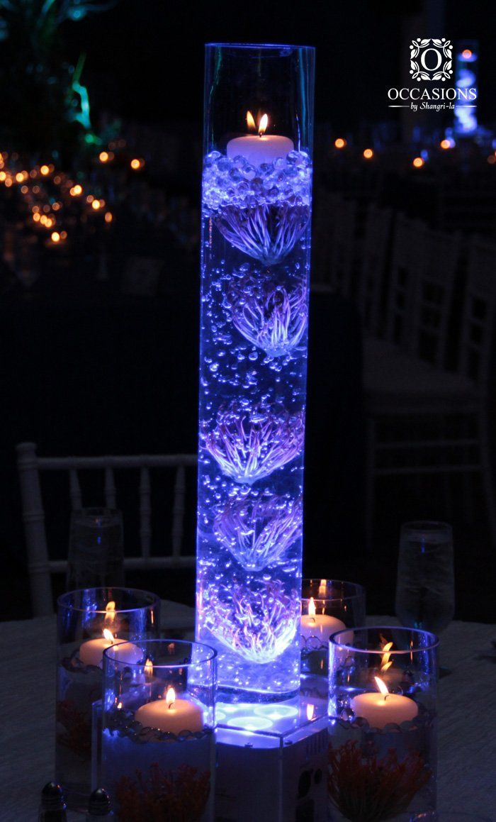 WATER THEMED CENTERPIECES