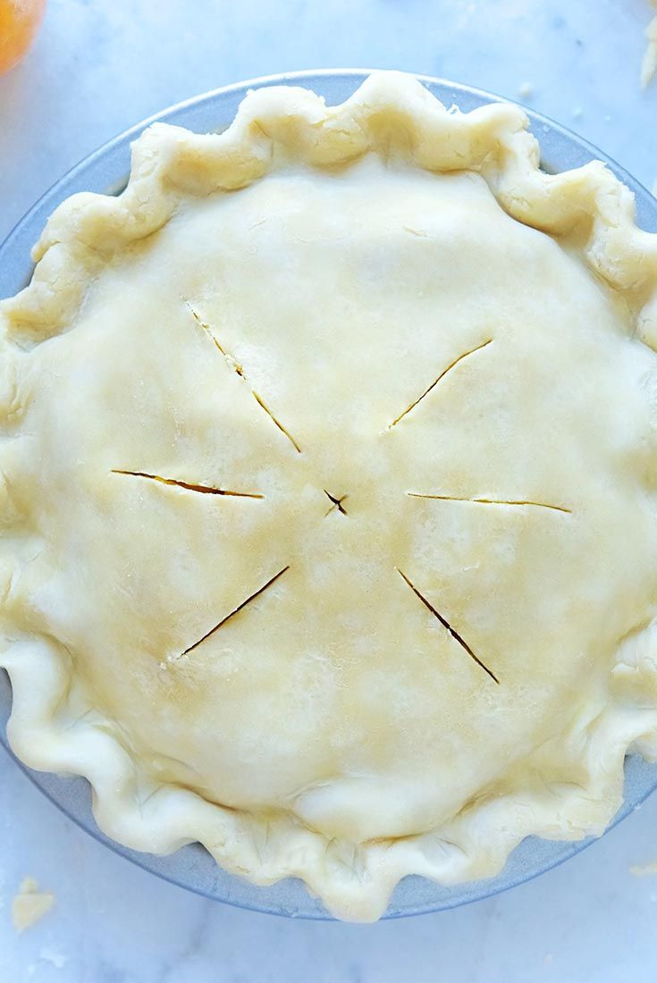 Classic Double Pie Crust Recipe  King Arthur 1/2 half butter 1/2 shortening.... use this cw