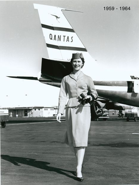 Photo gallery: Qantas uniforms – 65 years of high-flying fashion - Flights | hotels | frequent flyer | business class - Australian Business Traveller
