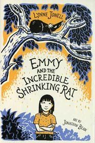 Lynne Jonell; Illustrated by Jonathan Bean Emmy and the Incredible Shrinking Rat