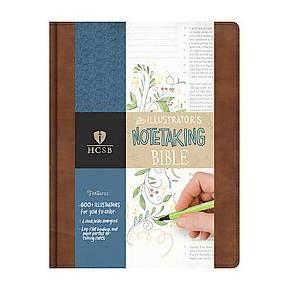 Illustrator's Note-Taking Bible : Holman Christian Standard Bible, British Tan Leathertouch, The