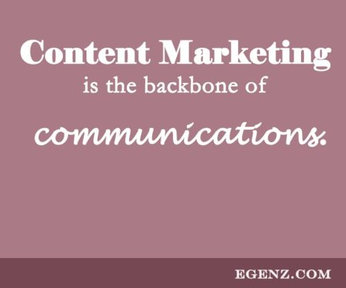 Content Marketing is the backbone of communications.  We also provide services such as Malaysia Website Design, Web Development Kuala Lumpur, Groupon Website, Auction Website, Ecommerce, SMS Blast Malaysia, Internet Marketing, SEO, Online Advertising Malaysia and etc. For more information, please visit our website www.Egenz.com or call us now +603-62099903. | egenz